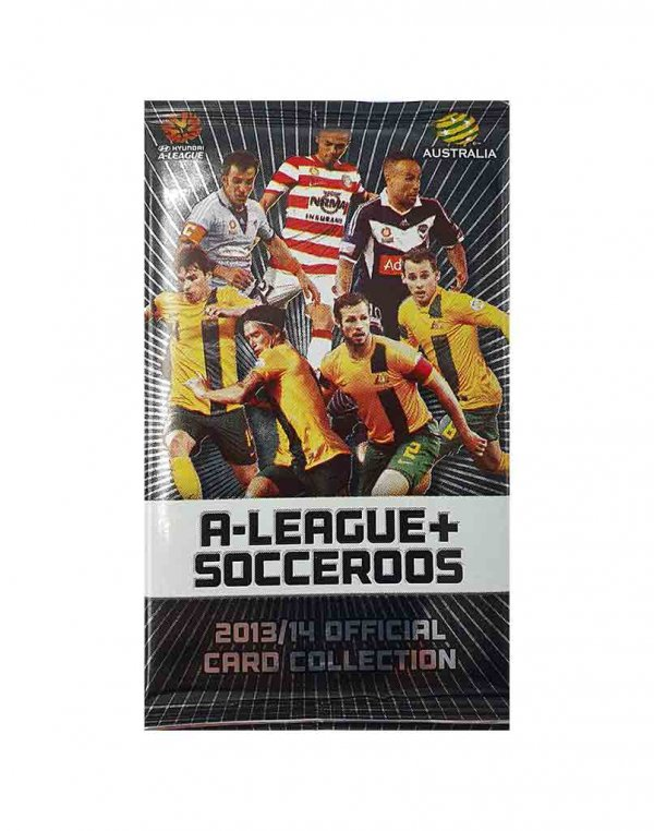 2013/14 A-League + Socceroos Sealed Packet