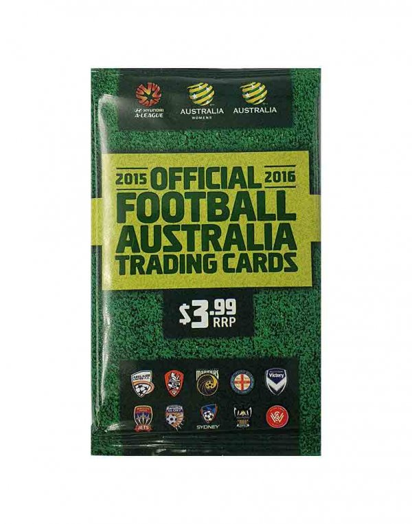 2015/16 FFA & A-League Sealed Soccer Packet
