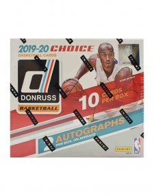 2019-20 Panini NBA Basketball Donruss Choice Hobby Box