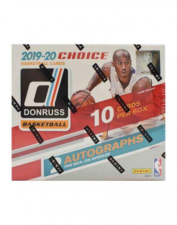 2019-20 Panini NBA Basketball Donruss Choice Hobby Box