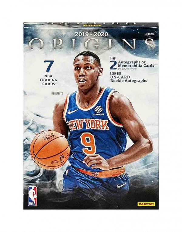 2019-20 Panini NBA Basketball Origins Hobby Box