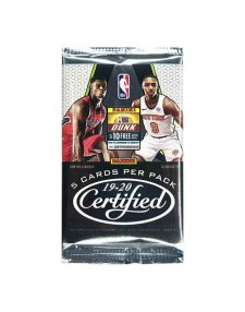 2019-20 Panini NBA Basketball Certified Hobby Packet