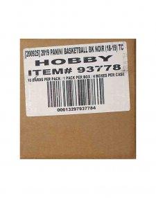2018-19 Panini NBA Basketball Noir 4-Box Hobby Case
