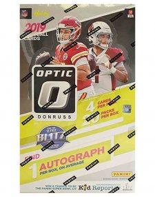 2019 Panini NFL Football Donruss Optic Hobby Box