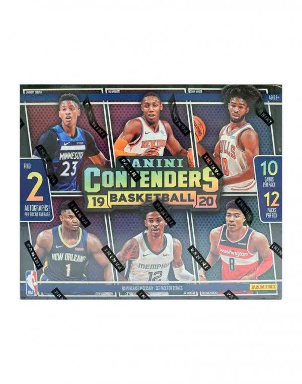 2019-20 Panini NBA Basketball Contenders Hobby Box