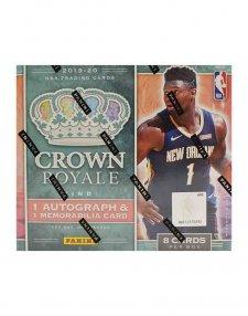 2019-20 Panini NBA Basketball Crown Royale Hobby Box