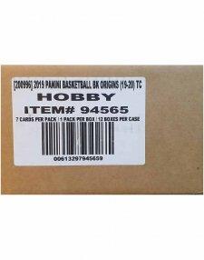 2019-20 Panini NBA Basketball Origins Hobby 12-Box Case