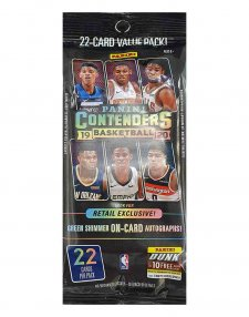 2019-20 Panini NBA Basketball Contenders Fat Pack