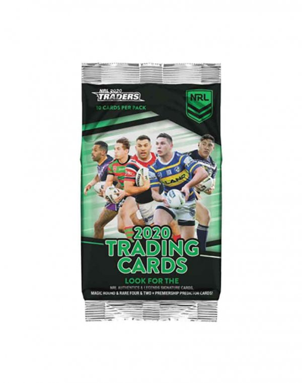 2020 TLA NRL Traders Sealed Trading Card Packet
