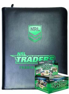 2020 TLA NRL Traders New Sealed Trading Card Box and Album Combo