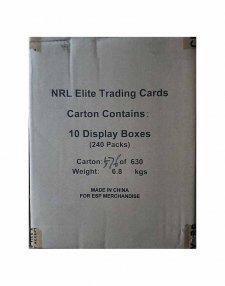2015 TLA NRL Elite Sealed 10-Box Case