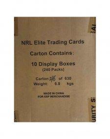 2016 TLA NRL Elite Sealed 10-Box Case