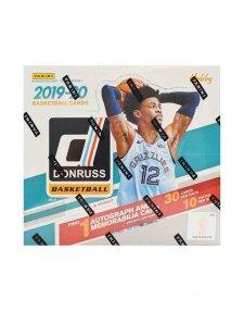2019-20 Panini NBA Basketball Donruss Hobby Box