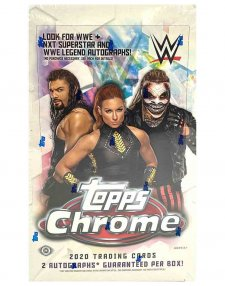2020 Topps WWE Chrome Hobby Box