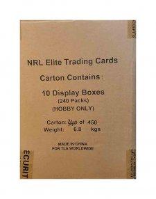 2017 TLA NRL Elite Sealed 10-Box Case