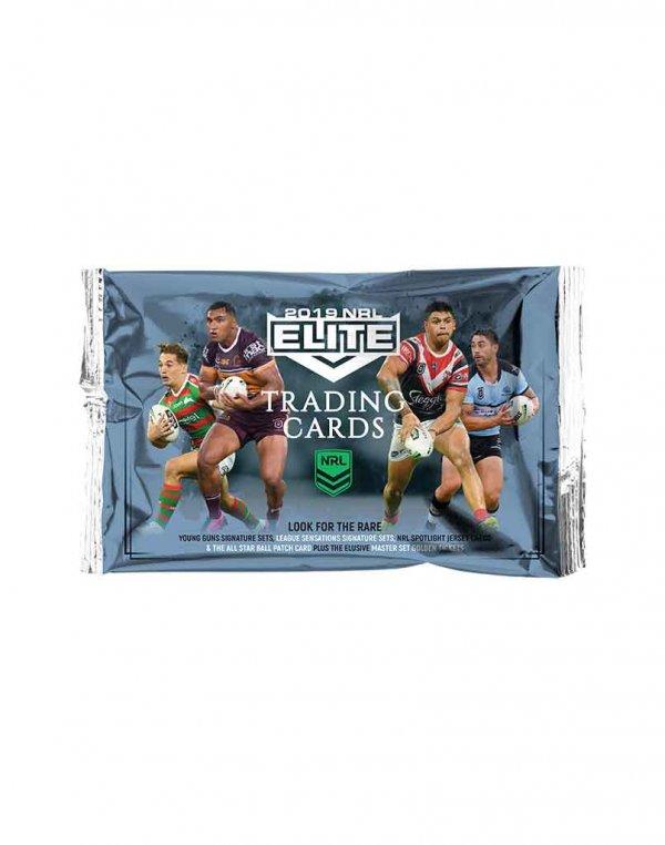 2019 TLA NRL Elite Sealed Trading Cards Packet