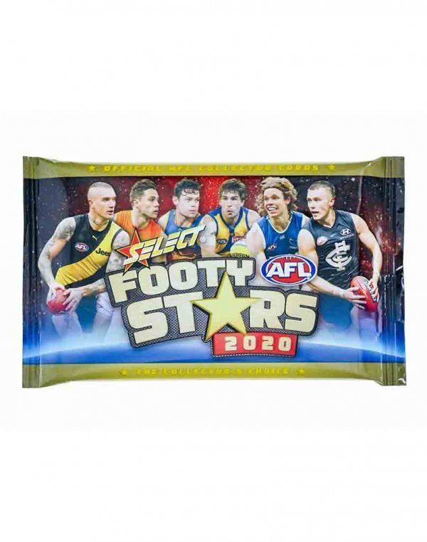 2020 Select AFL Footy Stars Sealed Trading Card Packet