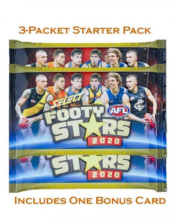2020 Select AFL Footy Stars Sealed Starter Pack