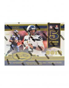 2019 Panini NFL Football Plates and Patches Hobby Box