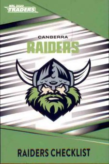 2020 NRL Traders 10-Card Base Team Set Canberra Raiders