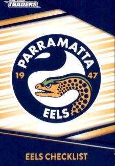 2020 NRL Traders 10-Card Base Team Set Parramatta Eels