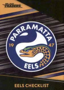 2020 NRL Traders Platinum Parallel PS91 Eels Checklist