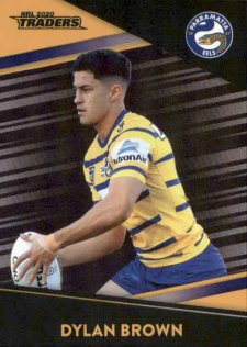 2020 NRL Traders Platinum Parallel PS92 Dylan Brown Eels