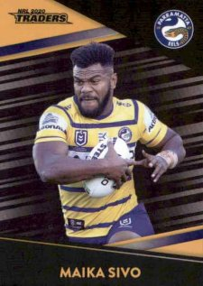 2020 NRL Traders Platinum Parallel PS100 Maika Sivo Eels
