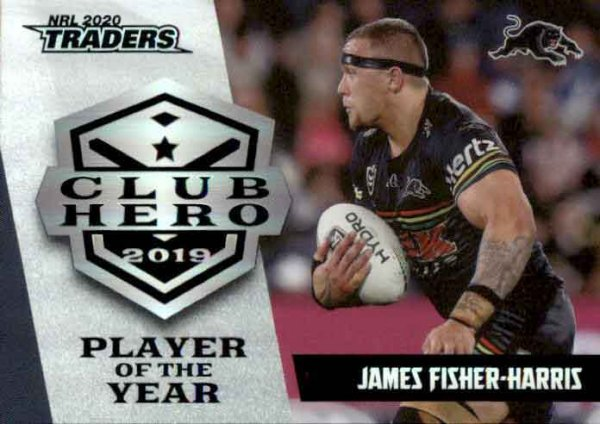 2020 NRL Traders Club Heroes CH21 James Fisher-Harris Panthers