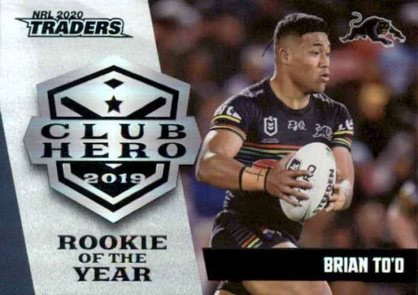 2020 NRL Traders Club Heroes CH22 Brian To'o Panthers