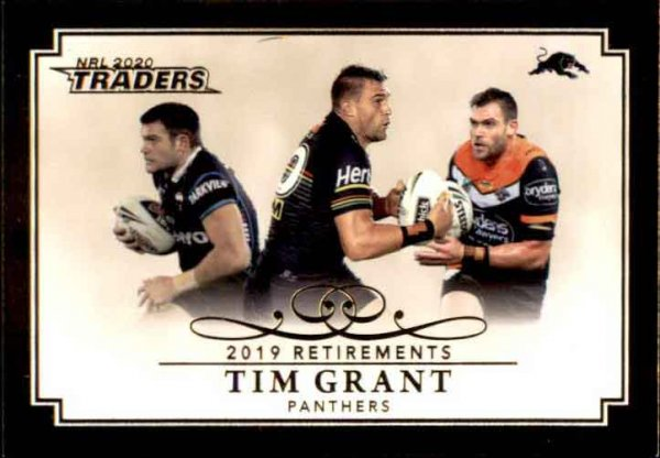 2020 NRL Traders Retirements R9 Tim Grant Panthers