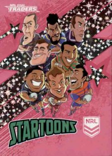 2020 NRL Traders Startoons Pink STP5 Group A Header Card