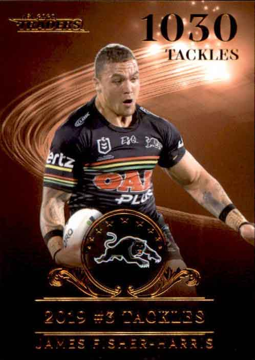 2020 NRL Traders League Leader Bronze LLB6 James Fisher-Harris Panthers