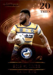 2020 NRL Traders League Leader Bronze LLB7 Maika Sivo Eels