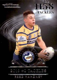 2020 NRL Traders League Leader Silver LLS5 Reed Mahoney Eels