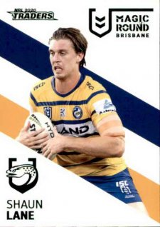 2020 NRL Traders Magic Round Parallel Album Card MRP10 Shaun Lane Eels