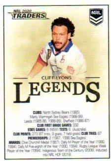 Legend Case Cards