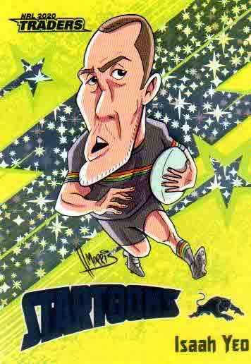 2020 NRL Traders Startoons Yellow STY12 Isaah Yeo Panthers