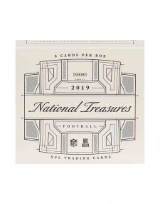 2019 Panini NFL Football National Treasures Hobby Box