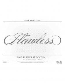2019 Panini NFL Football Flawless Hobby Box