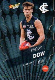 2020 AFL Footy Stars Jigsaw JS20 Paddy Dow Blues