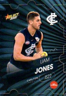 2020 AFL Footy Stars Jigsaw JS22 Liam Jones Blues