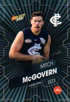 2020 AFL Footy Stars Jigsaw JS23 Mitchell McGovern Blues