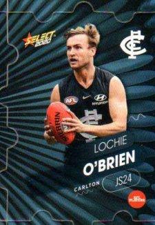 2020 AFL Footy Stars Jigsaw JS24 Lochie O'Brien Blues
