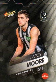 2020 AFL Footy Stars Jigsaw JS34 Darcy Moore Magpies