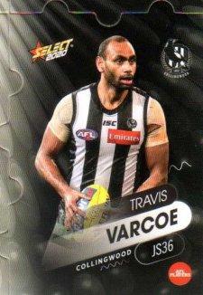 2020 AFL Footy Stars Jigsaw JS36 Travis Varcoe Magpies