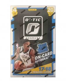 2017-18 Panini NBA Basketball Donruss Optic Retail Box