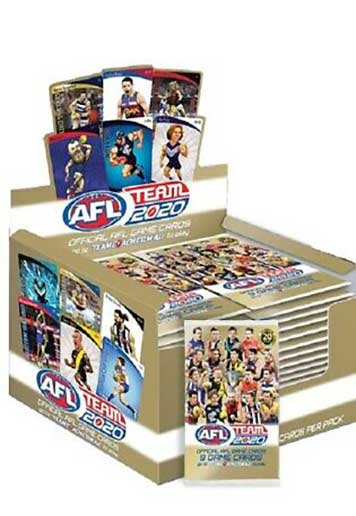 2020 AFL Teamcoach Sealed Trading Card Box