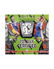 2017/18 Panini NBA Basketball Totally Certified Hobby Box 5 cards per pack 8 packs per box
