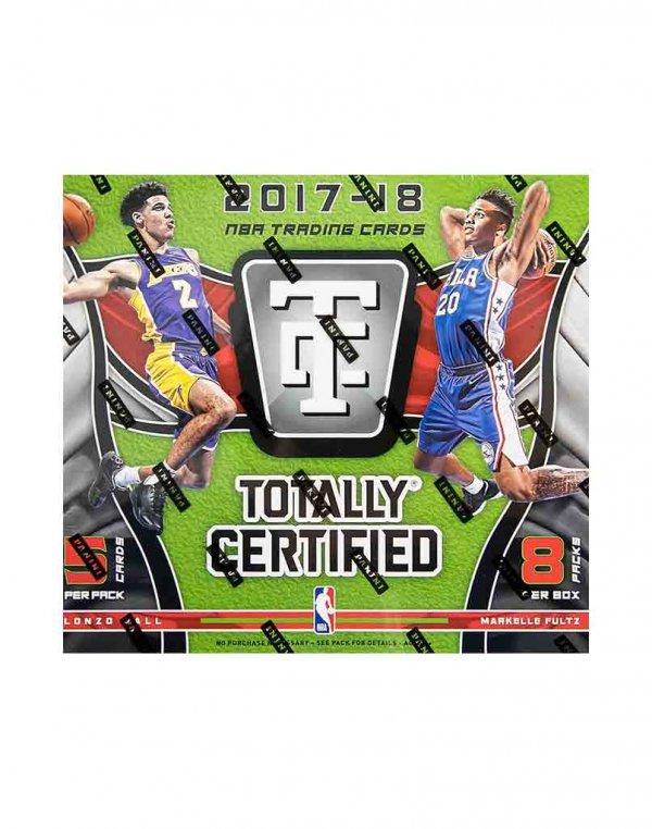 2017/18 Panini NBA Basketball Totally Certified Hobby Box 5 cards per pack 8 packs per box